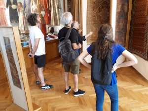 Advanced class in Mekhitarian Museum in Vienna